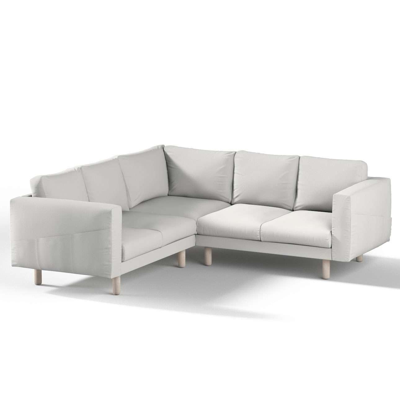 Pokrowiec na sofę narożną Norsborg 4-osobową w kolekcji Etna, tkanina: 705-90