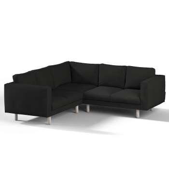 Pokrowiec na sofę narożną Norsborg 4-osobową w kolekcji Etna, tkanina: 705-00