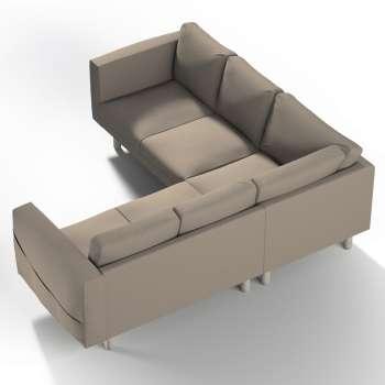 Pokrowiec na sofę narożną Norsborg 4-osobową w kolekcji Cotton Panama, tkanina: 702-28