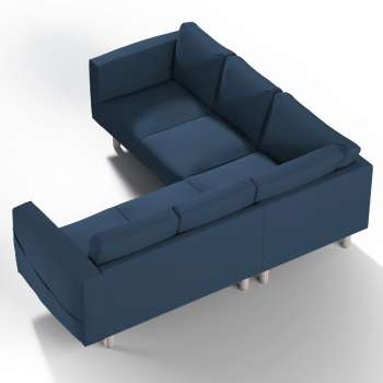 Pokrowiec na sofę narożną Norsborg 4-osobową w kolekcji Cotton Panama, tkanina: 702-30