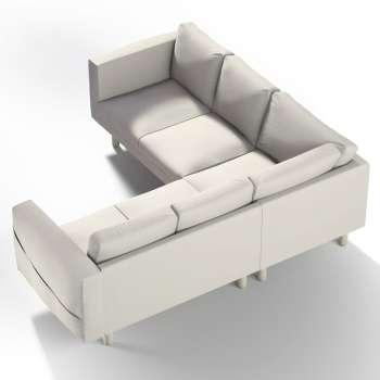 Pokrowiec na sofę narożną Norsborg 4-osobową w kolekcji Cotton Panama, tkanina: 702-31