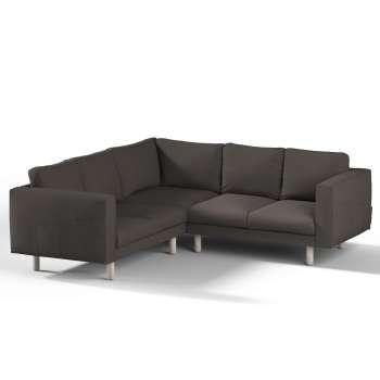 Pokrowiec na sofę narożną Norsborg 4-osobową w kolekcji Etna, tkanina: 702-36