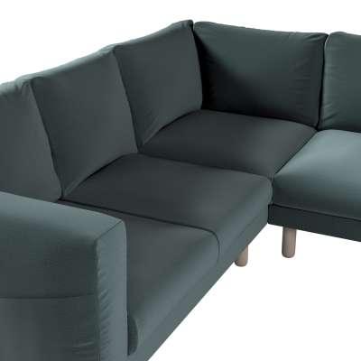 Pokrowiec na sofę narożną Norsborg 4-osobową w kolekcji Ingrid, tkanina: 705-36