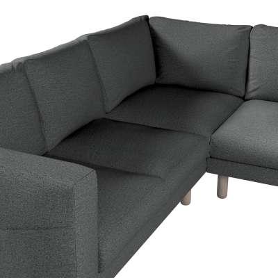 Pokrowiec na sofę narożną Norsborg 4-osobową w kolekcji Madrid, tkanina: 161-24