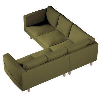 Pokrowiec na sofę narożną Norsborg 4-osobową w kolekcji Etna, tkanina: 161-26