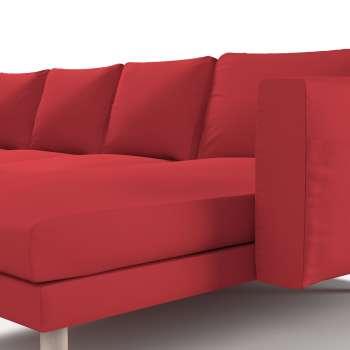 Pokrowiec na sofę Norsborg 4-osobową z szezlongiem w kolekcji Cotton Panama, tkanina: 702-04