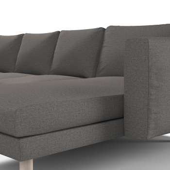 Pokrowiec na sofę Norsborg 4-osobową z szezlongiem w kolekcji Edinburgh, tkanina: 115-77