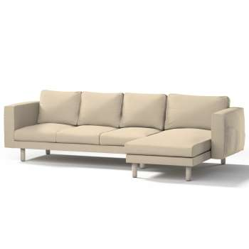 Norsborg 4-seat sofa with chaise longue cover