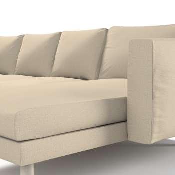 Pokrowiec na sofę Norsborg 4-osobową z szezlongiem w kolekcji Edinburgh, tkanina: 115-78