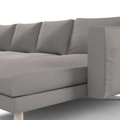 Pokrowiec na sofę Norsborg 4-osobową z szezlongiem w kolekcji Edinburgh, tkanina: 115-81