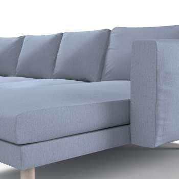 Pokrowiec na sofę Norsborg 4-osobową z szezlongiem w kolekcji Chenille, tkanina: 702-13