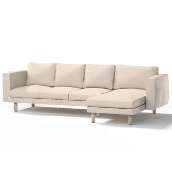 Pokrowiec na sofę Norsborg 4-osobową z szezlongiem w kolekcji Etna, tkanina: 705-01