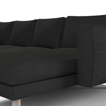 Pokrowiec na sofę Norsborg 4-osobową z szezlongiem w kolekcji Etna, tkanina: 705-00