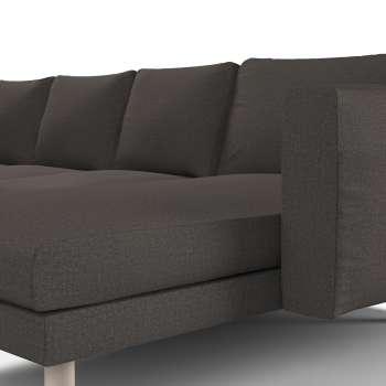 Pokrowiec na sofę Norsborg 4-osobową z szezlongiem w kolekcji Etna, tkanina: 702-36