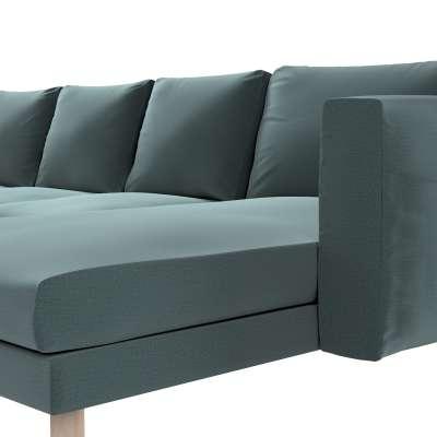 Pokrowiec na sofę Norsborg 4-osobową z szezlongiem w kolekcji Ingrid, tkanina: 705-36