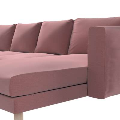 Pokrowiec na sofę Norsborg 4-osobową z szezlongiem w kolekcji Ingrid, tkanina: 705-38
