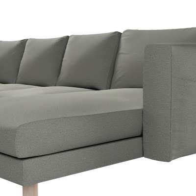 Pokrowiec na sofę Norsborg 4-osobową z szezlongiem w kolekcji Etna, tkanina: 161-25