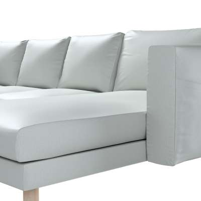 Pokrowiec na sofę Norsborg 4-osobową z szezlongiem w kolekcji Bergen, tkanina: 161-72