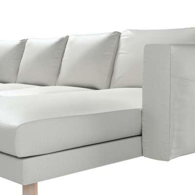 Pokrowiec na sofę Norsborg 4-osobową z szezlongiem w kolekcji Bergen, tkanina: 161-84