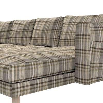 Pokrowiec na sofę Norsborg 4-osobową z szezlongiem w kolekcji Edinburgh, tkanina: 703-17