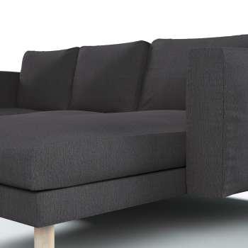 Pokrowiec na sofę Norsborg 3-osobową z szezlongiem w kolekcji Chenille, tkanina: 702-20