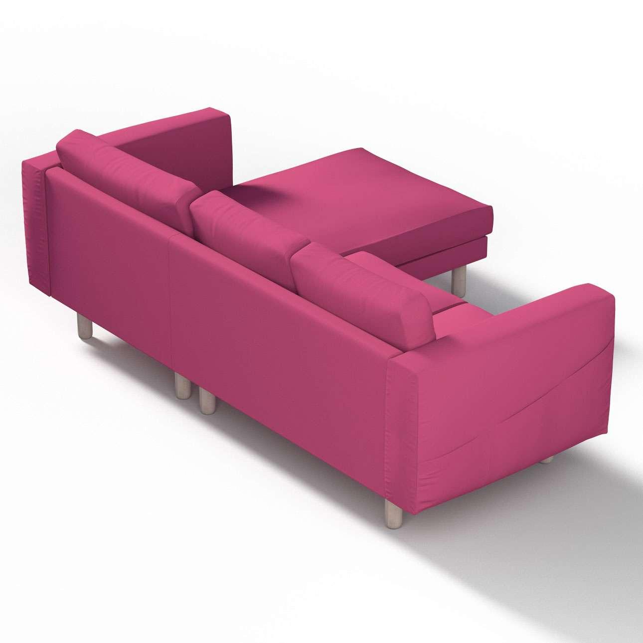 norsborg bezug f r 3 sitzer sofa mit recamiere amarant dekoria. Black Bedroom Furniture Sets. Home Design Ideas