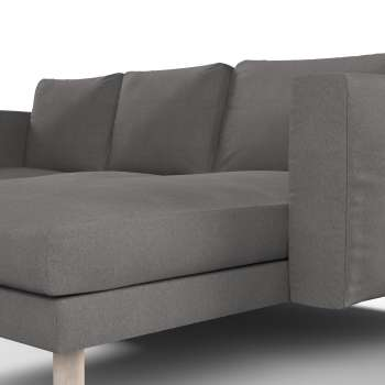 Norsborg Bezug F 252 R 3 Sitzer Sofa Mit Recamiere Dunkelgrau