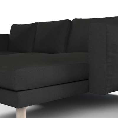 Pokrowiec na sofę Norsborg 3-osobową z szezlongiem w kolekcji Etna, tkanina: 705-00