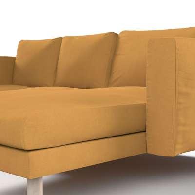 Pokrowiec na sofę Norsborg 3-osobową z szezlongiem w kolekcji Etna, tkanina: 705-04