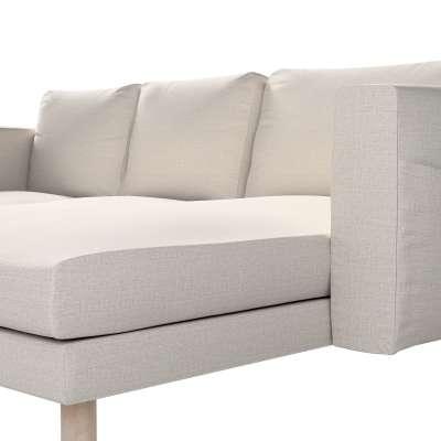 Pokrowiec na sofę Norsborg 3-osobową z szezlongiem w kolekcji Living, tkanina: 161-00