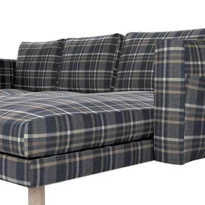 Pokrowiec na sofę Norsborg 3-osobową z szezlongiem w kolekcji Edinburgh, tkanina: 703-16