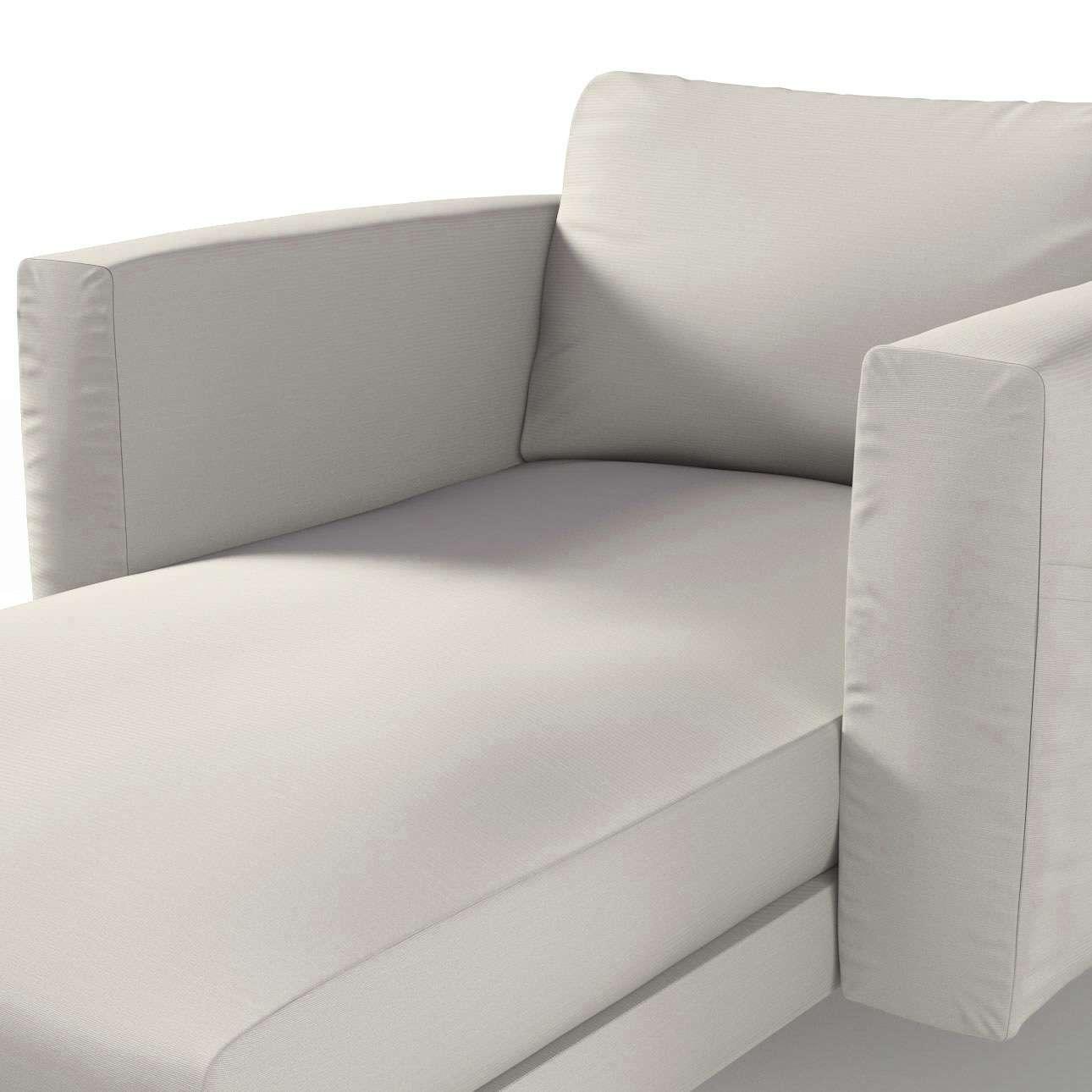 Pokrowiec na szezlong Norsborg z podłokietnikami w kolekcji Cotton Panama, tkanina: 702-31