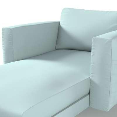 Pokrowiec na szezlong Norsborg z podłokietnikami w kolekcji Cotton Panama, tkanina: 702-10
