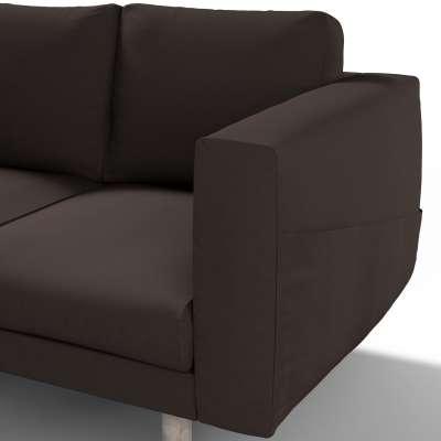 Pokrowiec na sofę Norsborg 3-osobową w kolekcji Cotton Panama, tkanina: 702-03