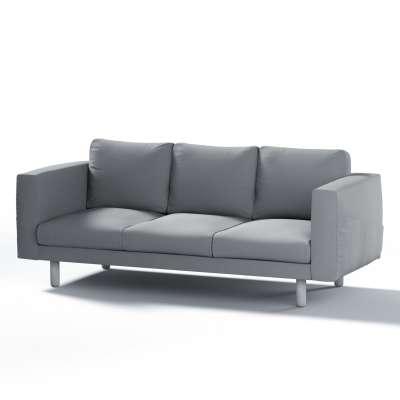 Pokrowiec na sofę Norsborg 3-osobową w kolekcji Cotton Panama, tkanina: 702-07