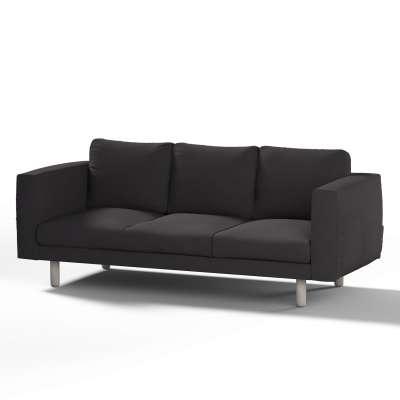 Pokrowiec na sofę Norsborg 3-osobową w kolekcji Cotton Panama, tkanina: 702-09