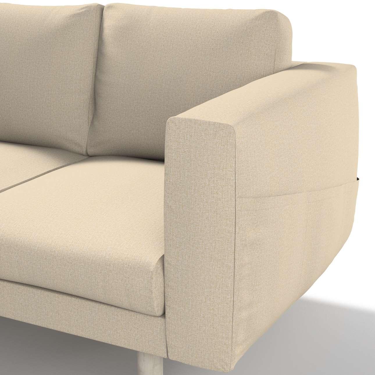 Pokrowiec na sofę Norsborg 3-osobową w kolekcji Edinburgh, tkanina: 115-78