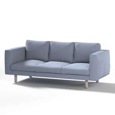 Pokrowiec na sofę Norsborg 3-osobową w kolekcji Chenille, tkanina: 702-13