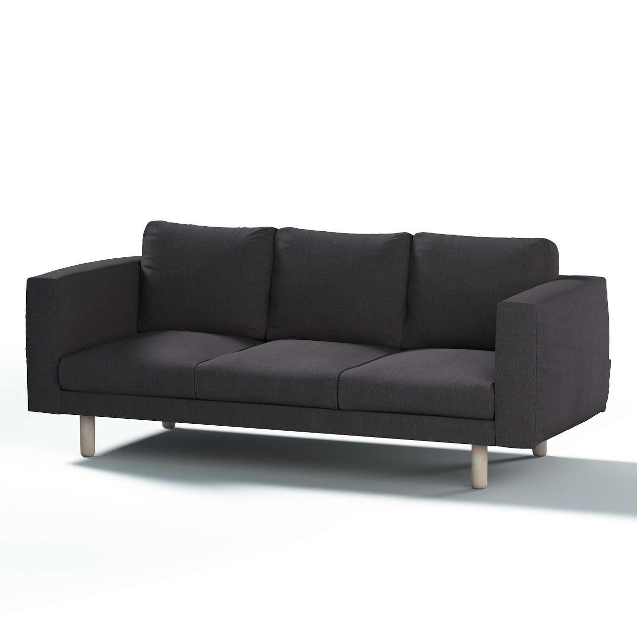 Pokrowiec na sofę Norsborg 3-osobową w kolekcji Chenille, tkanina: 702-20