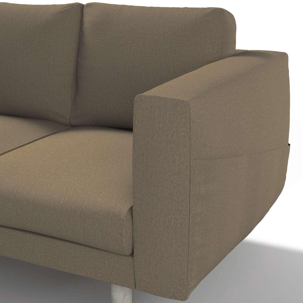 Pokrowiec na sofę Norsborg 3-osobową w kolekcji Chenille, tkanina: 702-21