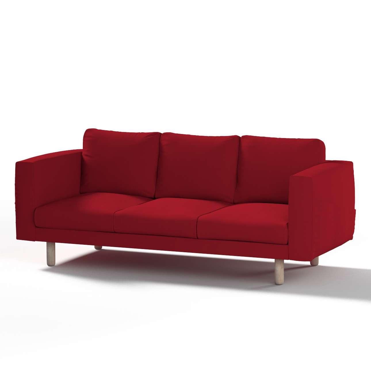 Pokrowiec na sofę Norsborg 3-osobową w kolekcji Chenille, tkanina: 702-24