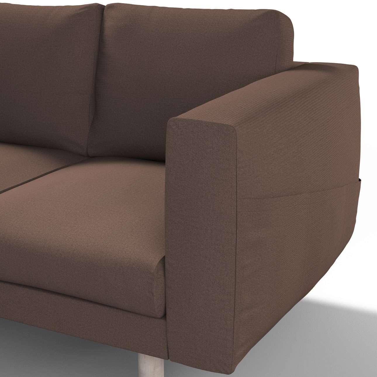 Pokrowiec na sofę Norsborg 3-osobową w kolekcji Etna, tkanina: 705-08