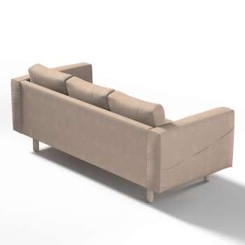 Pokrowiec na sofę Norsborg 3-osobową w kolekcji Etna, tkanina: 705-09
