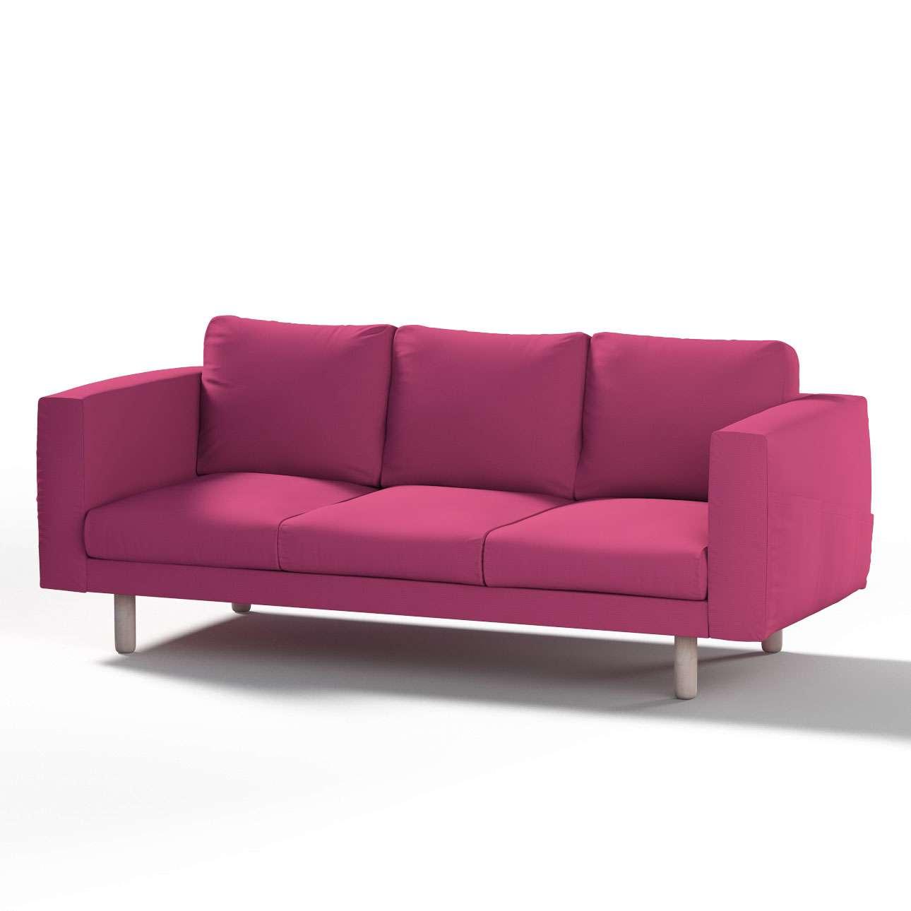 Pokrowiec na sofę Norsborg 3-osobową w kolekcji Etna, tkanina: 705-23