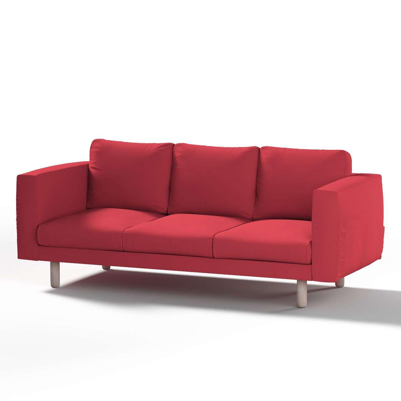 norsborg 3 sitzer sofabezug rot dekoria. Black Bedroom Furniture Sets. Home Design Ideas
