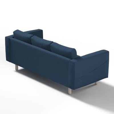 Pokrowiec na sofę Norsborg 3-osobową w kolekcji Cotton Panama, tkanina: 702-30