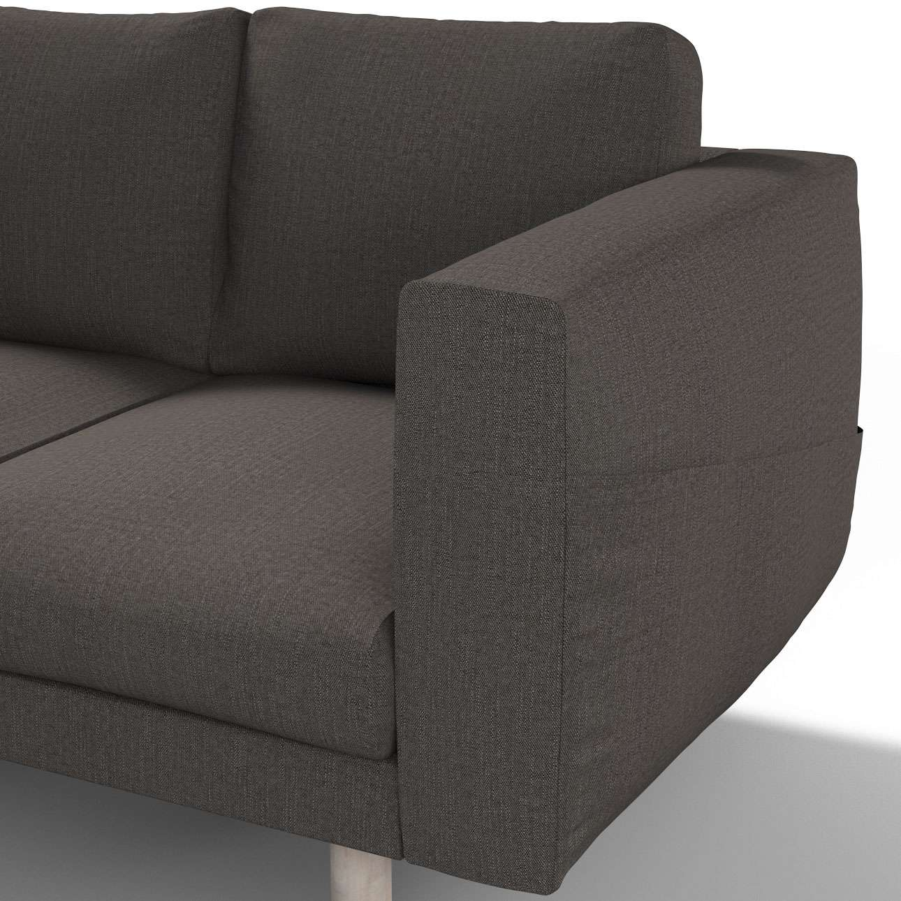 Pokrowiec na sofę Norsborg 3-osobową w kolekcji Vintage, tkanina: 702-36