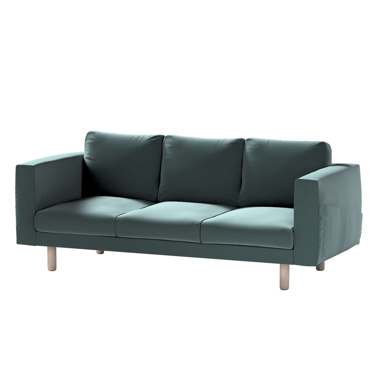 Pokrowiec na sofę Norsborg 3-osobową w kolekcji Ingrid, tkanina: 705-36