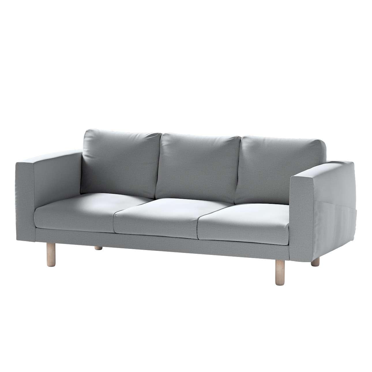 Pokrowiec na sofę Norsborg 3-osobową w kolekcji Ingrid, tkanina: 705-42
