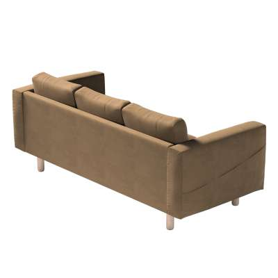 Norsborg 3-seat sofa cover 160-94 brown chenille Collection Living II